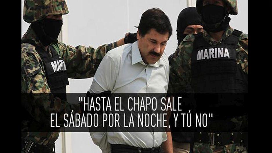 Bromas en torno a la fuga del Chapo. (Suministrada)