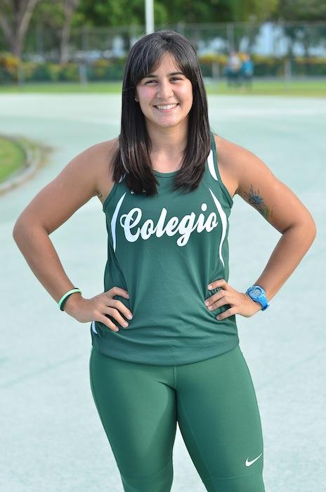 Yulianna Irizarry, atleta del RUM (David Pérez/ Diálogo)
