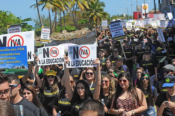 Vista parcial de la marcha (Ricardo Alcaraz/Diálogo)