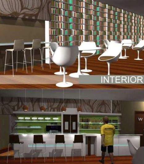 Diseno para Cafe Modelo 3D