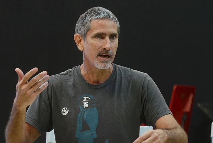 El profesor Juan Otero.