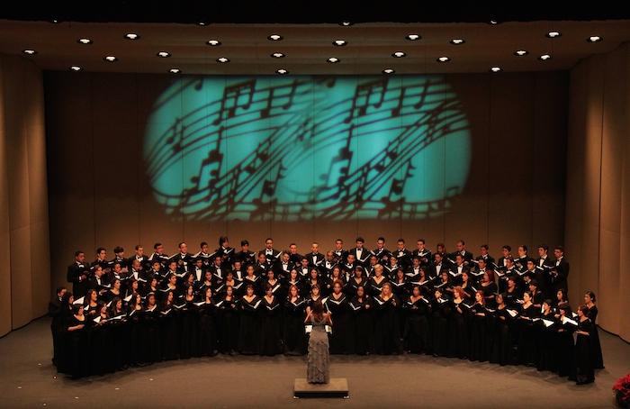 La presentación del Coro de la Universidad de Puerto Rico en el Teatro del a UPR, es una de las presentaciones más esperadas cada año. (Seminario Multidisciplinario de Información y Documentación José Emilio González)