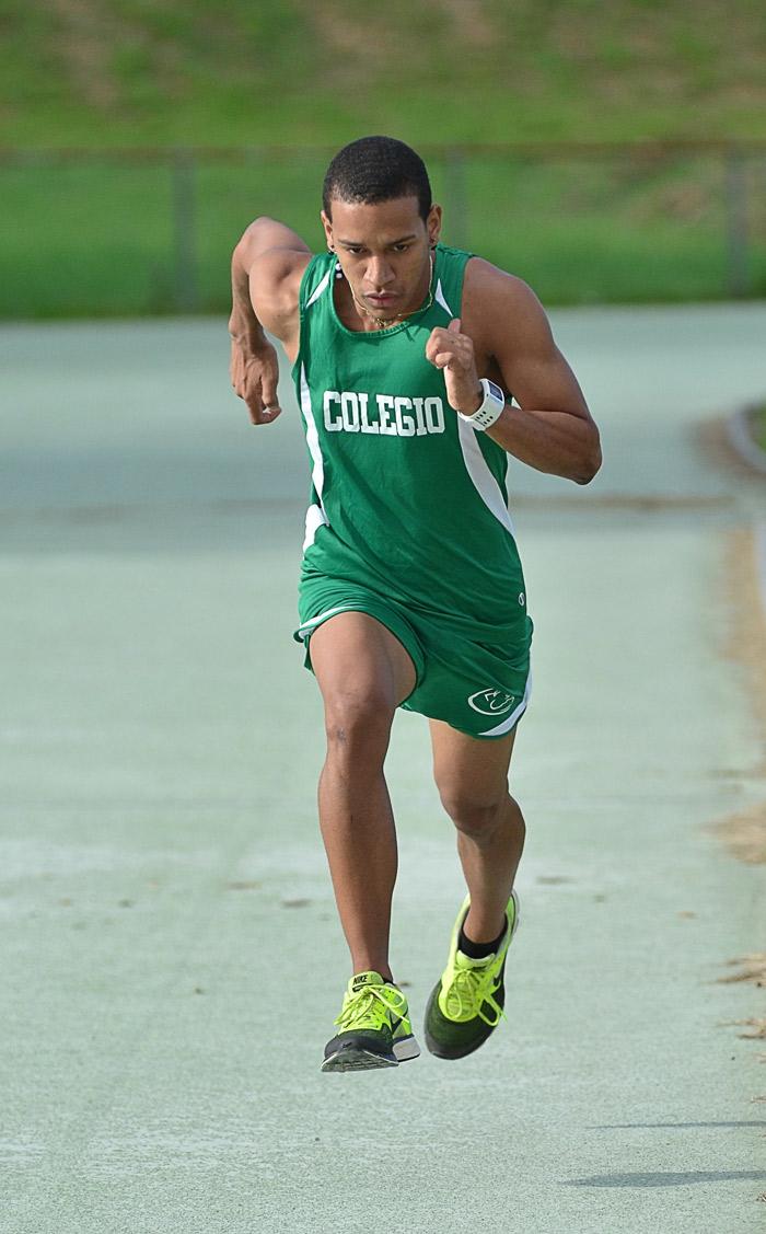 Joshua Correa, atleta del RUM