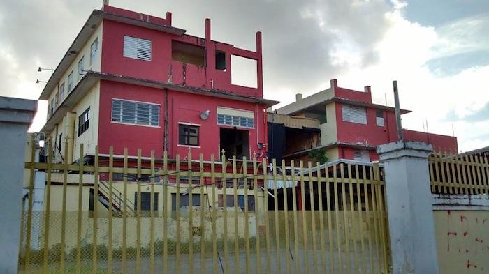 Torrefacción abandonada actualmente en la Ave. Fernández Junco
