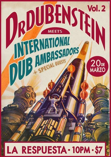 Afiche de la presentación de Dr. Dubenstein junto a los IDA, esta noche en La Respuesta. Mañana estarán en Aguadilla y el domingo en Luquillo. (Suinistrada)