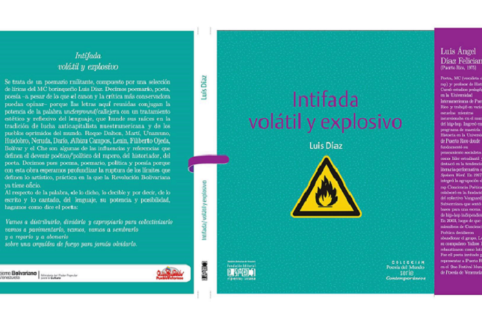 Imagen del libro de Luis Díaz que la casa editorial El Perro y La Rana presentará en la Feria Internacional del Libro en Caracas. (Suministrada)