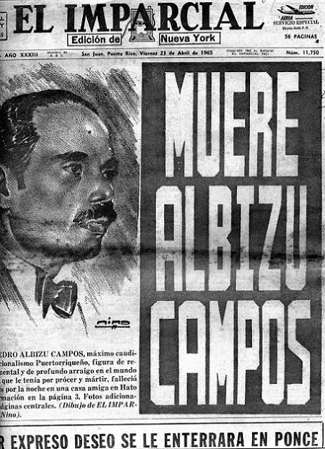 El libro utiliza además información de diarios locales de la época, como esta portada del periódico El Imparcial. (Suministrada)