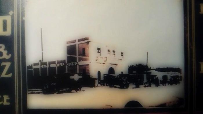 Edificio de la Avenida Fernández Juncos  en la década del 40.