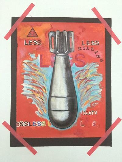 """""""Less"""", una de las piezas de Umberto Crenca. (Jorge Fusaro / Matadero Art)"""