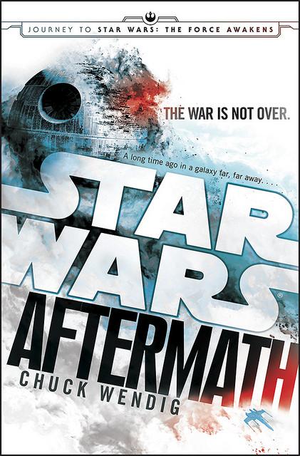 """Portada de la novela """"Star Wars: Aftermath"""". (Suministrada)"""
