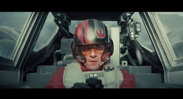 """El personaje de Oscar Isaac, el piloto Poe Dameron, en el primer 'teaser' de """"The Force Awakens"""". (Suministrada)"""