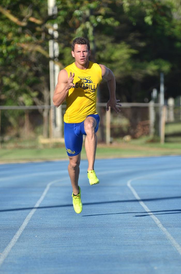 Agustín Tavárez, atleta de la UPR Aguadilla