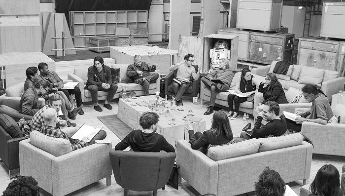 "Foto del elenco oficial de ""The Force Awakens"" (Suministrada)"