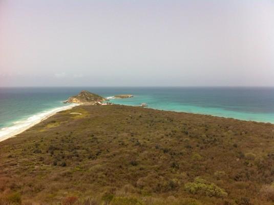 Vista desde el Faro en Reserva Natural Caja de Muerto (José Coss Charriez)