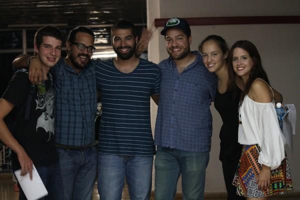 Los estudiantes puertorriqueños tuvieron la oportunidad de compartir con personas de diferentes países. (Michelle Estades)