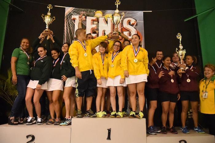 La Universidad Interamericana va ganando la Copa Global de la Liga Atlética Interuniversitaria.  (11)