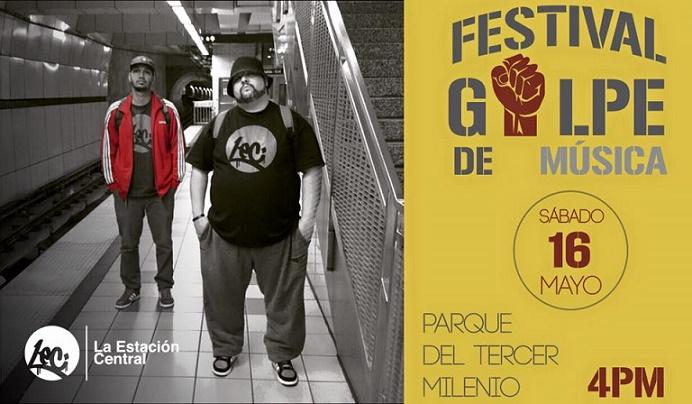 En la noche de hoy, sábado 16 de mayo, Nuff Ced y EBRS se presentan en el Festival El Golpe. (Suministrada)