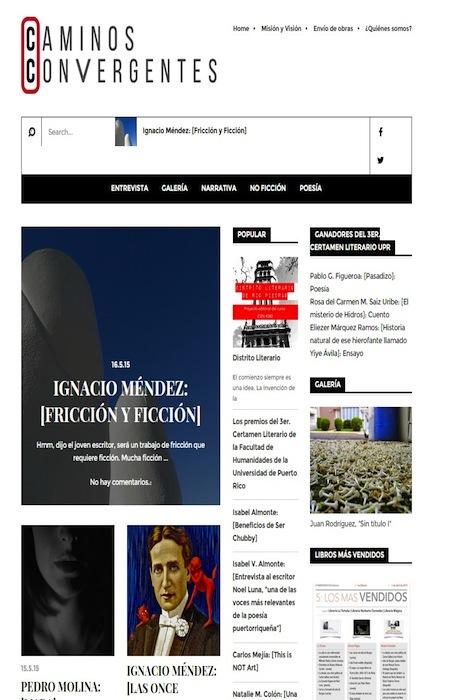 Revista Digital Caminos Convergentes. (Suministrada)
