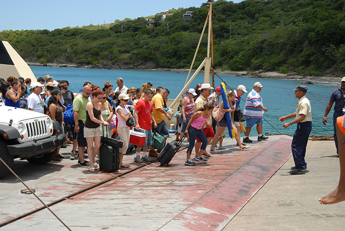 Desde la década de 1990 Culebra empezó a popularizarse como sitio turístico. (Ricardo Alcaraz/Diálogo)