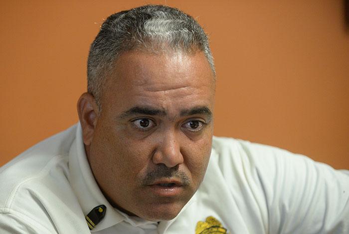 Misael Feliciano, teniente del DRN (Ricardo Alcaraz / Diálogo UPR)