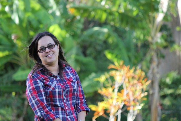 Wildairy Bermúdez, propietaria de la Hacienda Anacagüita en Utuado. (Michelle Estades)