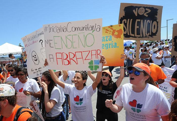 Iniciativa Comunitaria dijo presente. (Ricardo Alcaraz/ Diálogo)