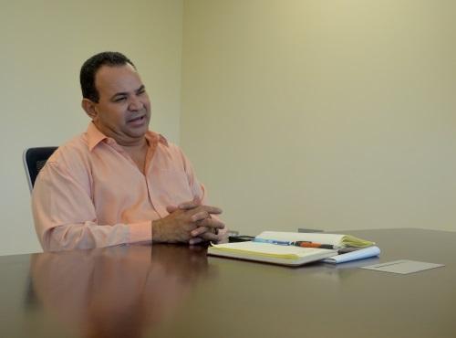 Jorge Cruz Fuentes, director Oficina de Relaciones Publicas de Hogar Crea. (Laura Moscoso / CPI)