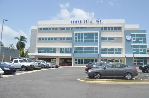 Oficinas administrativas de Hogar Crea en Trujillo Alto. (Joel Cintrón Arbasetti / CPI)