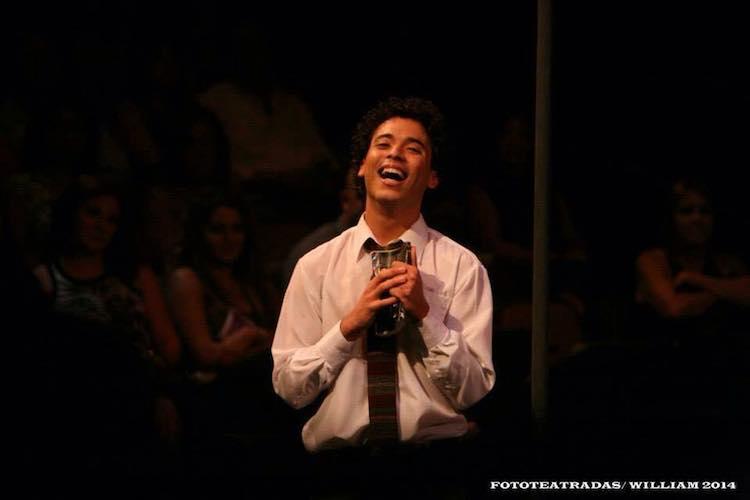Javier Iván en el Musical Los Fantastikos en el Centro de Bellas Artes de Santurce en junio de 2014. (Foto: William Vázquez)