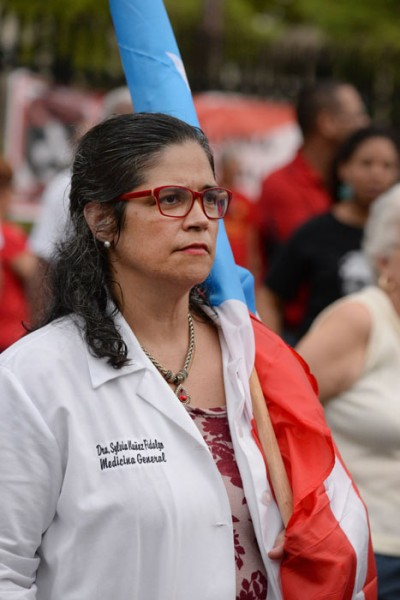 La doctora Sylvia Muñoz. (Ricardo Alcaraz/ Diálogo)