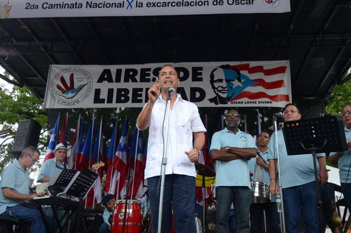 El congresista Luis Gutiérrez. (Ricardo Alcaraz/ Diálogo)