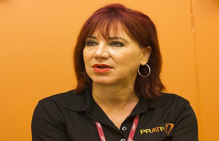 María Miranda, directora del PRATP. (Rafael Montañez/Diálogo)