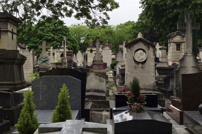 Cementerio de Montparnasse, París/ Steven Encarnación López