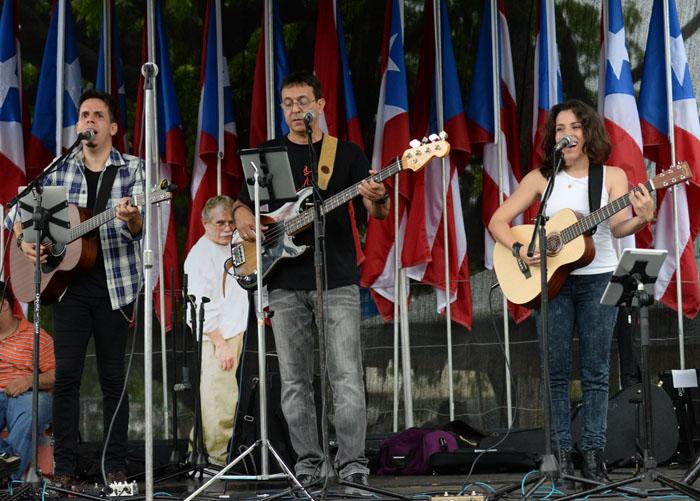 La Banda Acústica Rodante. (Ricardo Alcaraz/ Diálogo)