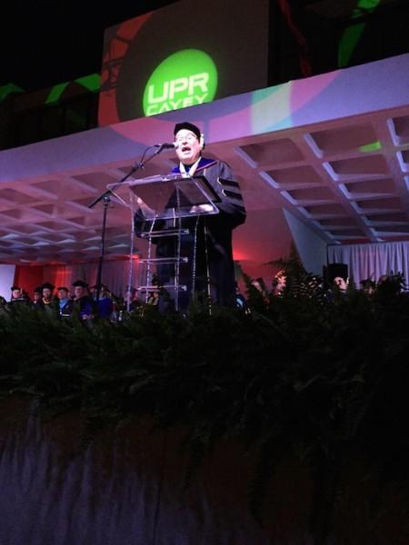 Rector UPR Cayey, Dr. Mario Medina
