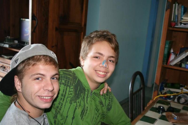 Mi hermano y yo. (José Cpss)