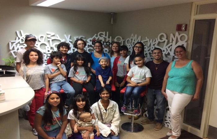 Visita del grupo de estudiantes de la organización Casa Escuela Puerto Rico a la redacción del periódico Diálogo de la Universidad de Puerto Rico. (Suministrada)