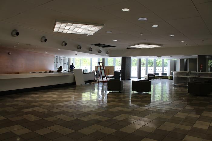 Centro de Esudiantes UPR-RP donde se encuentra el  IUPICoop Café. (Michelle Estades)