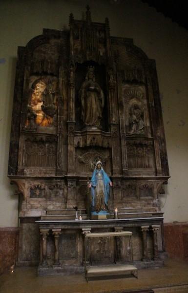 Altar de Alabastro del año 1933. (Ronald Ávila/Diálogo)