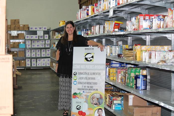 Directora ejectuvida del Banco de Alimento de Puerto Rico, Ivonne Bernard.