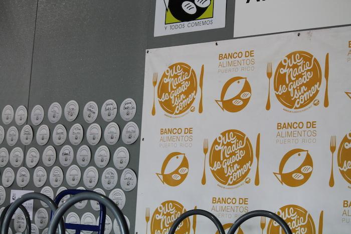 Algunas de las campañas del Banco de Alimento de Puerto Rico. (Michelle Estades)