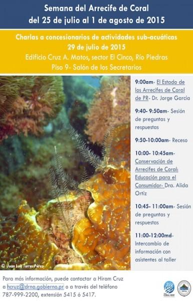 Semana del arrecife de coral. (Suministrada)