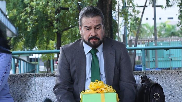 """El personaje del padre en el cortometraje puertorriqueño """"Y ahora, qué hacemos?"""" (Suministrada)"""