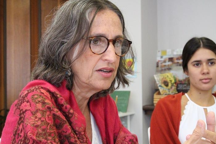 """La directora ejecutiva del INE, Ana María García señaló que la inciativa, """"es un proyecto muy hermoso"""". (Glorimar Velázquez/Diálogo)"""