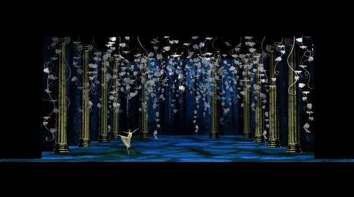 Diseño por Checo Cuevas para Sueño de una noche de verano, el cual se estará presentando en el Teatro Municipal de Lima. (Suministrada)
