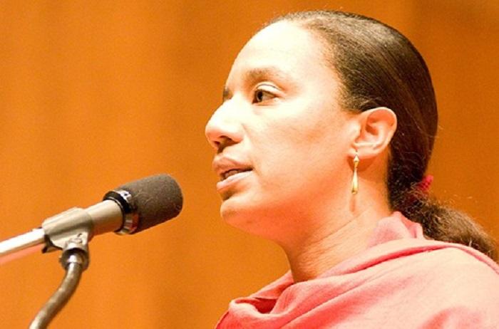 En la foto, Myriam Chancy novelista y académica haitiana-canadiense. (Suministrada)