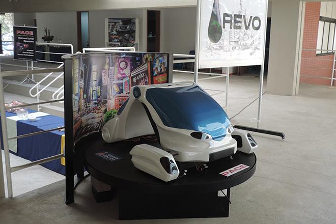 Modelo del Vehículo REVO. (suministrada)