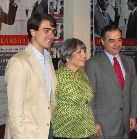 Realeza del PPD: De izquierda a derecha, Pablo Hernández, Melo Muñoz y José Afredo Hernández Mayoral. (rafaelhernandezcolon.org)
