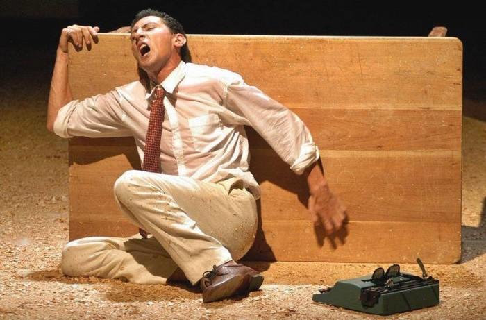 Argos Teatro en Vida y muerte por Pier Paolo Pasolini.