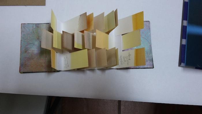 """""""Flat book"""" creado por la maestra Arialys Cruzado. (Antonella Vega/ Diálogo)"""